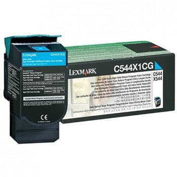 Lexmark Toner C544 cyan (C544X1CG) return