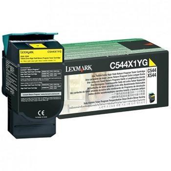 Lexmark Toner C544 yellow (C544X1YG) return
