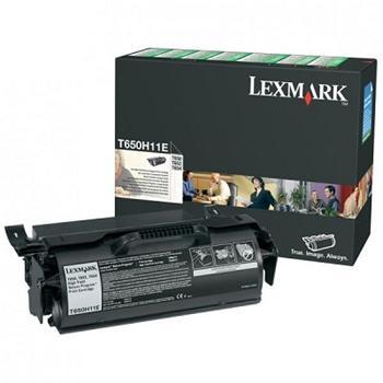 Lexmark Toner Cartridge T650 black HC (T650H11E)