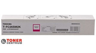 Toshiba Toner T-FC26SM 2K Magenta (6B000000334) e-Studio 222CP
