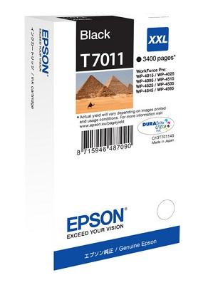 Epson Ink Cartridge T7011 black XXL