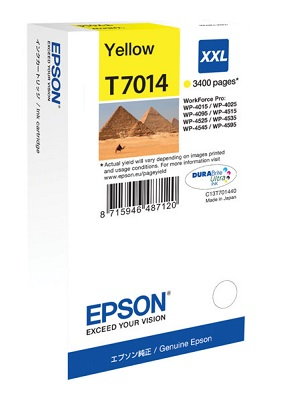 Epson Ink Cartridge T7014 yellow  XXL