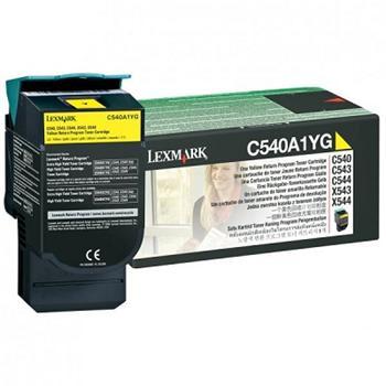 Lexmark Toner C540 yellow (C540A1YG) 1.000 K
