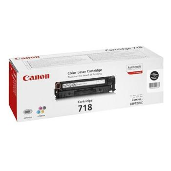 Canon Toner Cartridge CRG-718Bk black 2-Pack (2662B005)