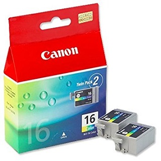 Canon BCI-16Cl color Twin Pack (9818A002)