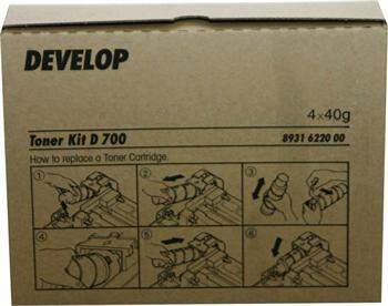 Develop Toner D700 4x40g (8931 6220 00)