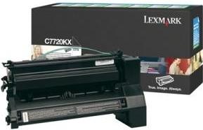 Lexmark Toner C7720KX black return