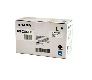 Sharp Toner Cartridge MX-C30GTC cyan