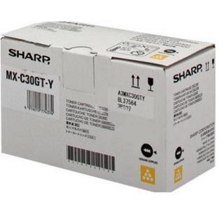 Sharp Toner Cartridge MX-C30GTY yellow