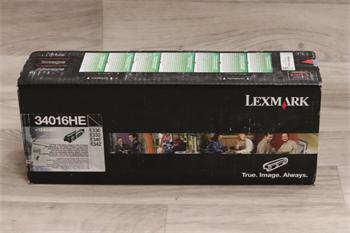 Lexmark Toner Cartridge 34016HE/E330 black
