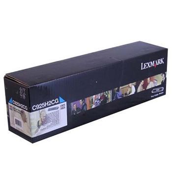 Lexmark C925 Cyan High Yield Toner Cartridge (C925H2CG)(7.500K)