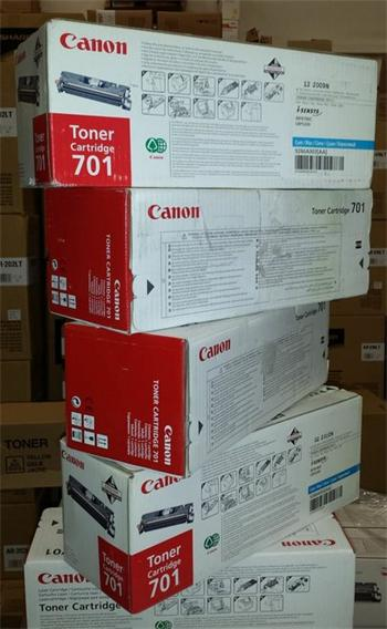 Canon Cartridge EP-701C cyan (9286A003) prošlé datum expirace