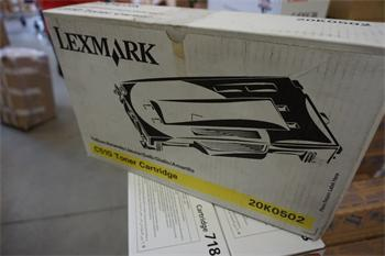 Lexmark Toner Cartridge 20K0502 yellow (3000K)