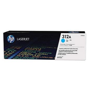 HP CF381A toner cyan No.312A