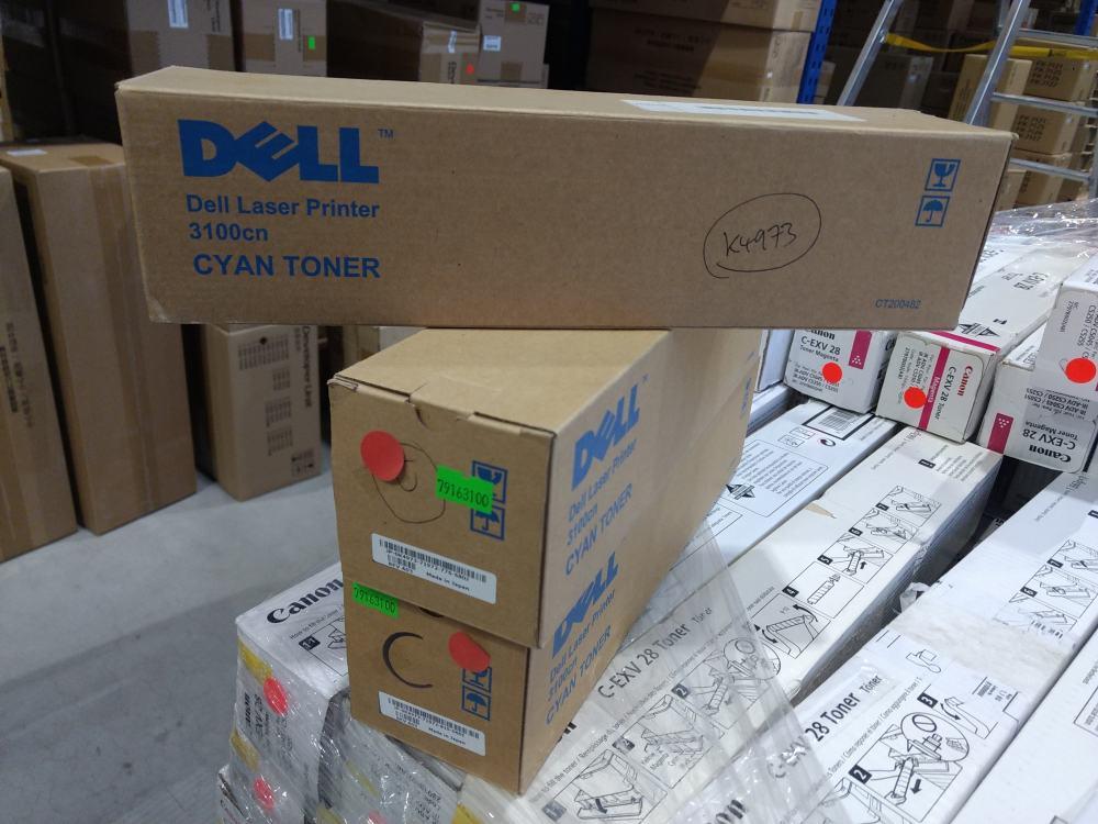 Dell Toner 3100 cyan (K4973) (593-10061) 4000 stran
