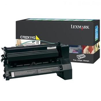 Lexmark Toner C782 yellow (C782X1YG) return 15.000 stran