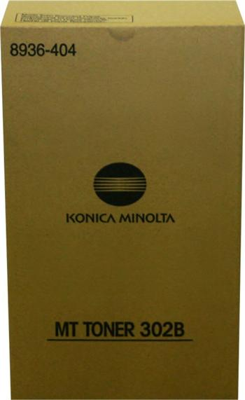 Konica Minolta Toner MT 302B 2x413g (8936-404)