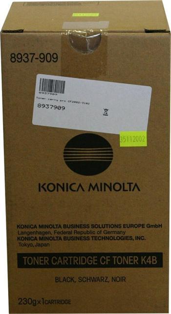 Konica Minolta Toner K4B black 1x230g (8937-909)