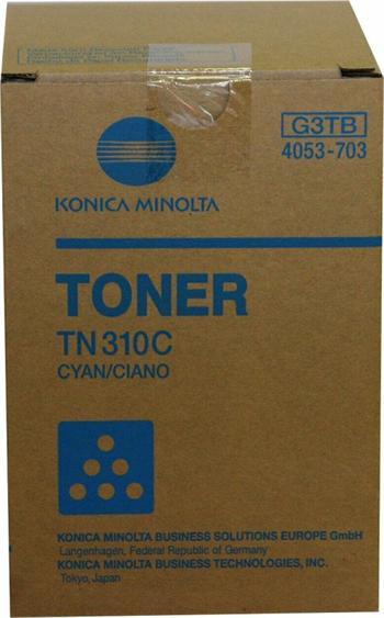 Konica Minolta Toner C350/TN310C cyan 1x230g (4053-703)