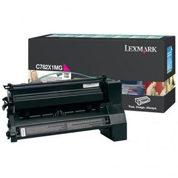 Lexmark Toner C782 magenta (C782X1MG) return 15.000 stran
