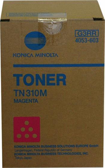 Konica Minolta Toner C350/TN310M magenta 1x230g (4053-603)