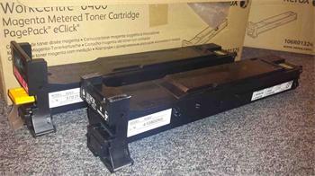 Xerox Toner WC6400 v úpravě Minolta MC4600/4650 cyan HC