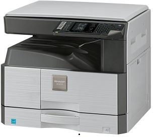Sharp AR-6020NV, 20 PPM, 250-sheets tray, 100-sheet bypass, duplex, network