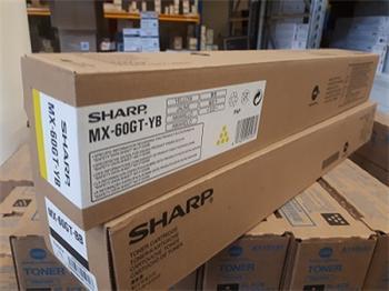 Sharp Toner Cartridge MX-60GTYB yellow