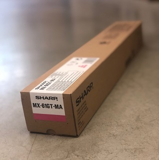 Sharp Toner Cartridge MX-61GTMA magenta 24K