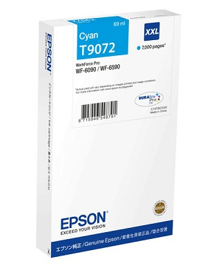 Epson Ink Cartridge T9072 cyan XXL