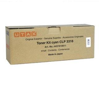 Utax Toner CLP3316 cyan (4431610011)