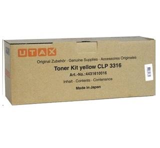 Utax Toner CLP3316 yellow (4431610016)