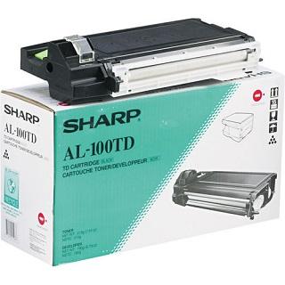 Sharp Toner/Developer Cartridge AL-100TD