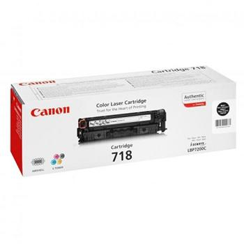 Canon Toner Cartridge CRG-718Bk black (2662B002)
