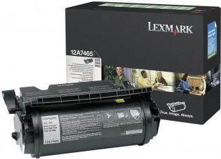 Lexmark Print Cartridge 12A7465 high capacity