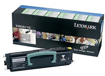 Lexmark Toner Cartridge X203A11G black X203/X204, return