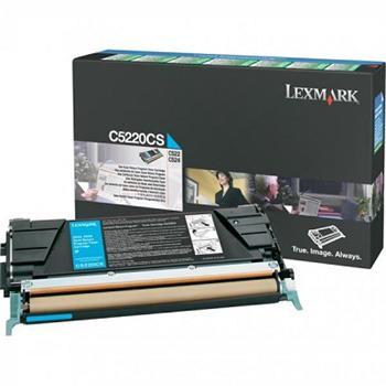 Lexmark Toner Cartridge C5220CS cyan pro C52X/53X (3000K)