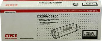 OKI Toner Cartridge C3200/C3200n black (42804540) high capacity
