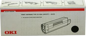 OKI Toner Cartridge C5100/5200/5300/5400 black (42127408) 5.000K