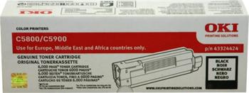 OKI Toner Cartridge C5800/C5550/C5900 black (43324424)