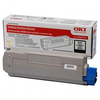 OKI Toner Cartridge C5850/C5950 black (43865724)