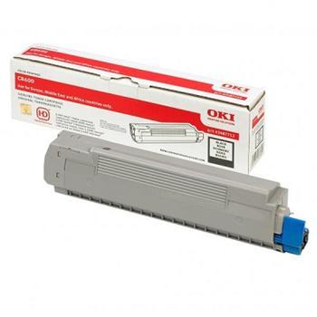 OKI Toner Cartridge C8600/C8800 black (43487712)