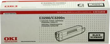 OKI Toner Cartridge C3200/C3200n black (43034808)