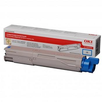 OKI Toner Cartridge C3300/3400 cyan (43459331) na 2.500K