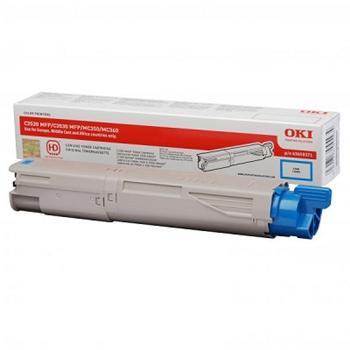 OKI Toner Cartridge C3520 cyan (43459371) 2500stran