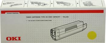 OKI Toner Cartridge C5100/5200/5300/5400 yellow (42127405)  5.000K