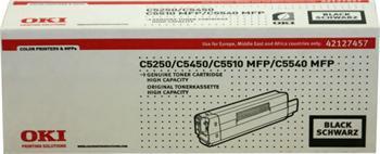 OKI Toner Cartridge C5250 black (42127457) 5.000 stran