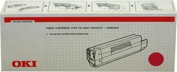 OKI Toner Cartridge C5100/5200/5300/5400 magenta (42127406) 5.000K
