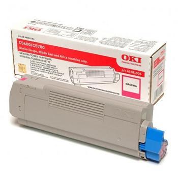 OKI Toner Cartridge C5600/5700 Magenta (43381906) 2.000 stran