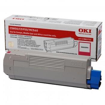 OKI Toner Cartridge C5850/C5950 magenta (43865722)